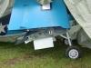Geir hade med sig en F4U Corsair, med fällbara vingar.