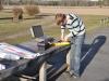 Daniel ska flyga Speedster 400.