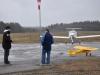 Dennis ska flyga med sin J3 Cub.