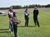Dennis hade några nyfikna som fick testa Klubbens Slash 4x4 ute på flygfältet. Det var mycket uppskattat!