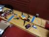 En Parrot AR Drone, styrs via Smartphone med Android, samt FPV i den, som visas på telefonen.