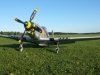 Keijos P51D Mustang fick lufta vingarna, Dennis fick vara pilot.