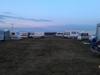 Var ett 20tal campare på området.