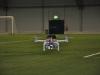 Filmande hexacopter.