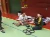 Johan och Stefan, kollar läget på AR Drone och Hubsan.