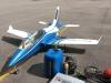 Hawkturbine visade upp en ny maskin.