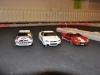Kennys Lancia, Tims Nissan och Jonas Ford. 091005